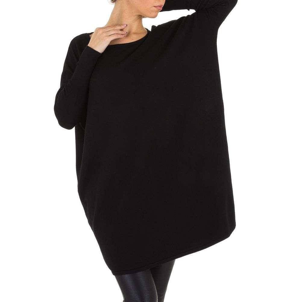 Женский джемпер платье оверсайз Shk Paris (Франция), Черный