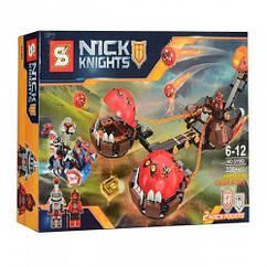 """Конструктор SY562 Nexo Knights (аналог Лего 70314) """"Безумная колесница Укротителя"""", 338 деталей"""