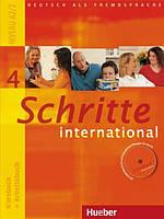 Schritte international 4 Kursbuch + Arbeitsbuch mit Audio-CD zum Arbeitsbuch und interaktiven Übungen