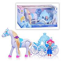 Карета с лошадкой и принцессой 686-723, звук
