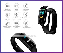 Фитнес-браслет Smart Bracelet M3 Sport Bracelet 0.96 TFT Touch Screen BT 4.0