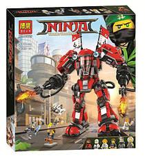 """Конструктор Ninjago Movie Bela 10720 (аналог Lego 70615) """"Огненный робот Кая"""" 980 деталей"""