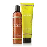 Shampoo and Conditioner Loyalty/«dōTERRA® Салон Эссеншалс» Защитный шампунь и смягчающий кондиционер, 2*250мл.