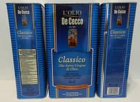 Оливковое масло De Cecco, 5л