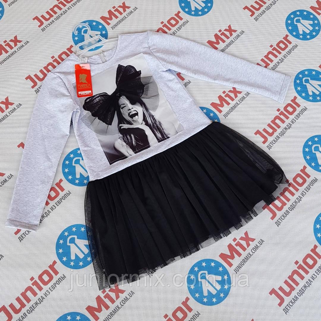 Детское платье для девочек оптом MARINEX  ПОЛЬША