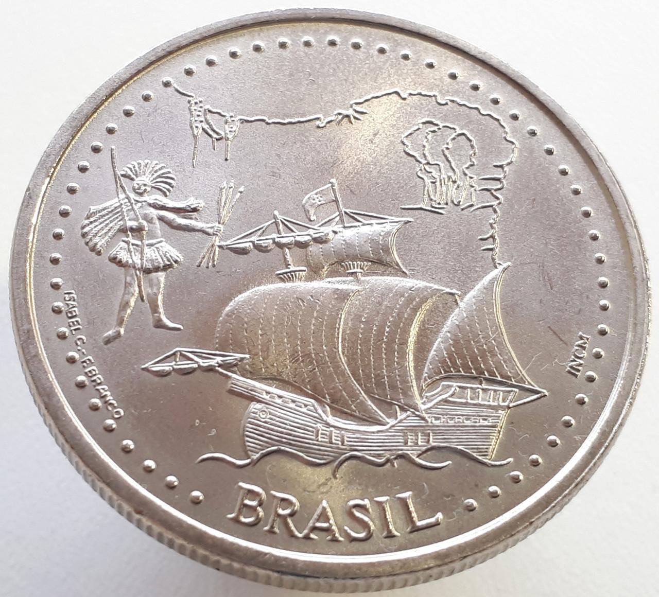 Португалия 200 эскудо 1999 - 500 лет с момента открытия Бразилии