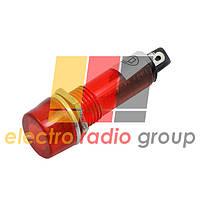 Сигнальная арматура  XD10-3  od=10mm 220VAC   (красный)  Daier