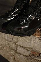 Женские зимние ботинки GUCCI черные. В Украине!, фото 2