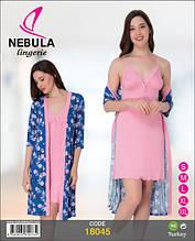 Комплект для сну жіночий віскоза 18045 Nebula