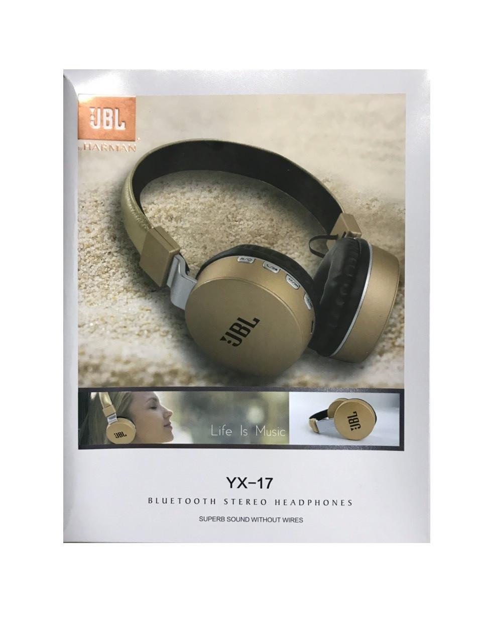 Беспроводные bluetooth наушники JBL YX17
