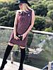 Элегантное платье букле - твид  184