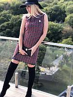 Элегантное платье букле - твид  184, фото 1