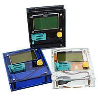 LCR-T4 Транзисторный тестер диодный триод LCD ЭСР-измеритель индуктивности с корпусом - 1TopShop