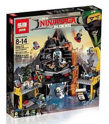 "Конструктор Ninjago Movie Lepin 06072 (аналог Lego 70631) ""Логово Гармадона в жерле вулкана"" 583 дет"