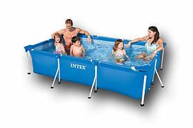 Каркасный прямоугольный бассейн Intex 28270