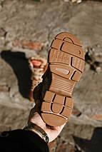 Женские зимние ботинки GUCCI коричневые. В Украине!, фото 3