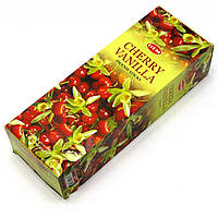 Благовония Cherry Vanilla HEM 20шт/уп. Аромапалочки Вишня и Ваниль (28604)