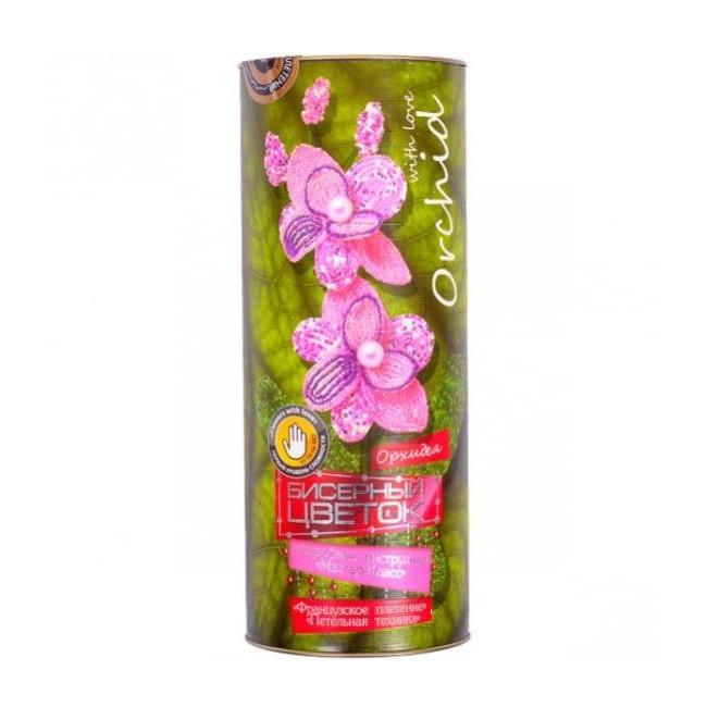 """Бисерный цветок """"Орхидея"""""""