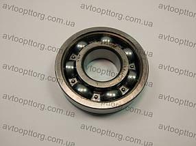 Подшипник КПП (2108,1102, ГАЗ) перв.та втор.валу (шарик.-метал.обойма) 6305N (с канавкой), фото 2