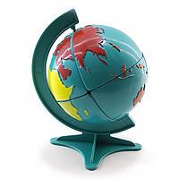 Глобус-головоломка 11х6,5х6,5см  (32298)