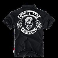 Футболка поло Dobermans Death Rider Colt TSP141BK, фото 1