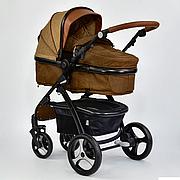 Детская коляска трансформер JOY 8682 Коричневый (GBK-015)