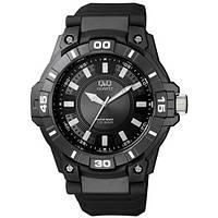 Часы мужские Q@Q модель VR86J003Y черные 10Bar (можно нырять, противоударные), фото 1