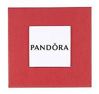 Красная подарочная коробочка Pandora для наручных часов и браслетов