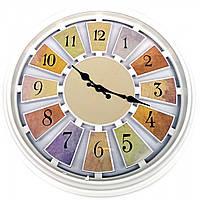 Часы настенные d-43см h-6см  (32018C)