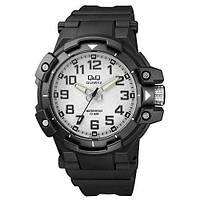 Часы мужские Q@Q модель VR82J003Y черные 10Bar (можно нырять, противоударные), фото 1
