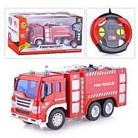 Пожарная машинка на радиоуправлении WY995, масштаб 1:16, свет