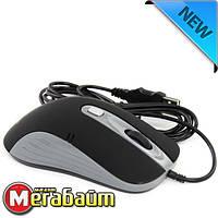 Мышь ProLogix PSM-200BG; Black/Grey 800/1400 DPI USB 1,5m, фото 1