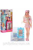 Кукла барби доктор, медсестра, шарнирная, в коробке JX100-46