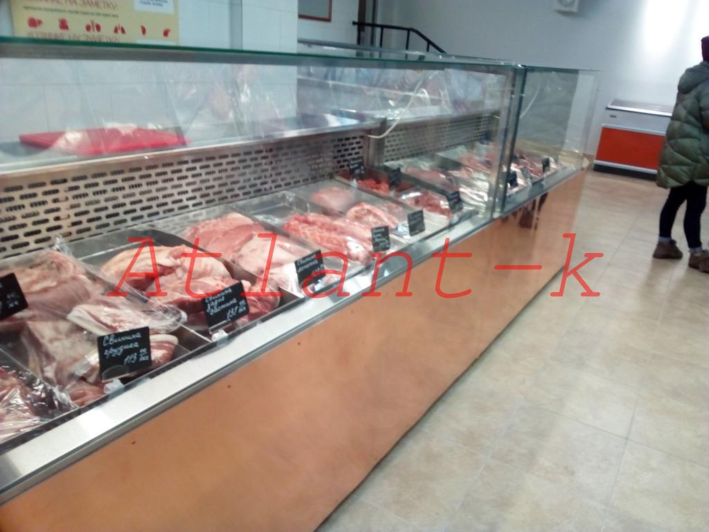 Витрины холодильные Пальмира Куб,  мясная лавка, г. Киев 2