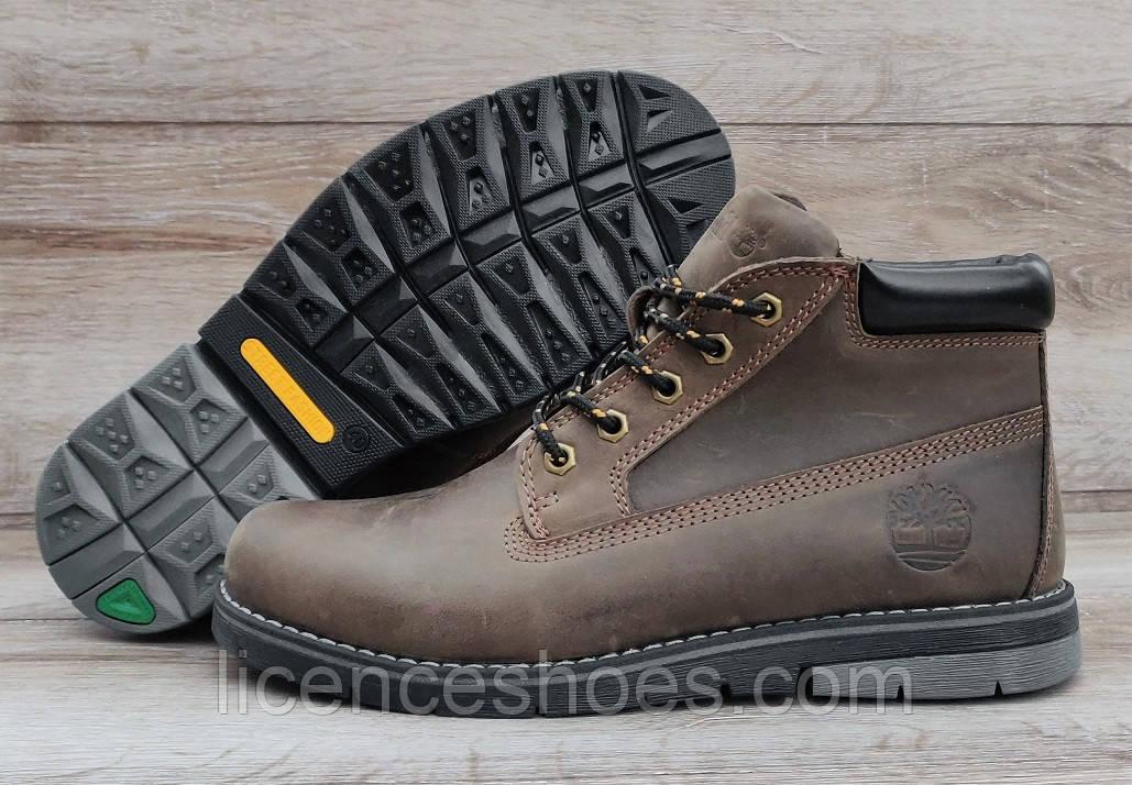Мужские ботинки Timberland. ТОЛЬКО 43 раз. Натуральная кожа и мех.