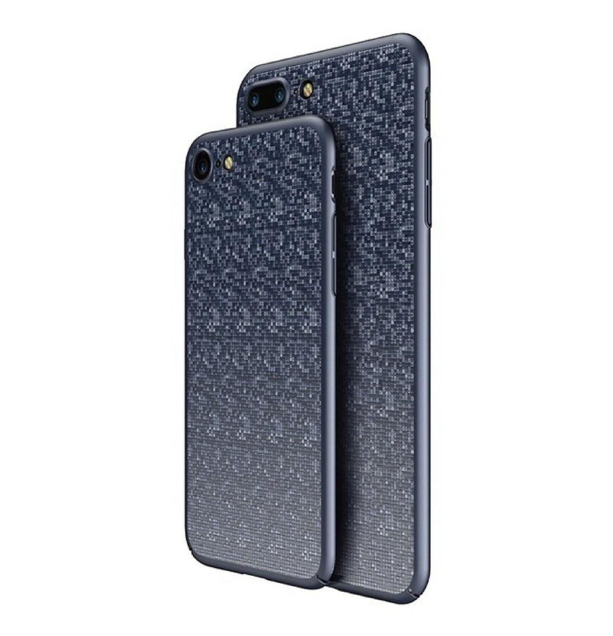 Пластиковая накладка Baseus Plaid Ultrathin для iPhone 7 / 8 Dark Blue