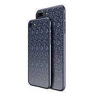 Пластиковая накладка Baseus Plaid Ultrathin для iPhone 7 / 8 Dark Blue, фото 1