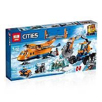 """Конструктор Lepin 02112 """"Арктический грузовой самолёт"""" (аналог Lego City 60196), 791 дет"""
