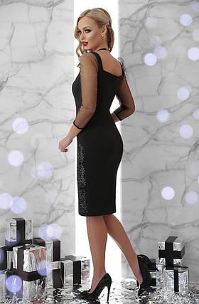 Шикарное вечернее платье  с пайетками Размеры S M L, фото 2