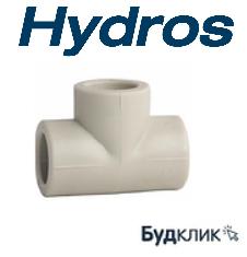 Тройник Равный 25 Ppr Hydros Чехия