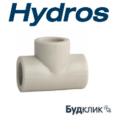 Тройник Равный 63 Ppr Hydros Чехия