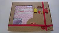 Бортики в детскую кроватку 100% сатин