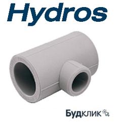 Тройник Переходной 50*25*50 Ppr Hydros Чехия