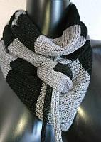 Декоративный шарф шарфик бактус