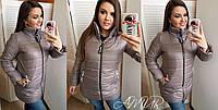 Женская зимняя куртка - полупальто   СО1189 (бат), фото 1