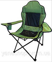 """Стул - кресло складной для рыбалки"""" Рыбак люкс Берег """" зеленый"""