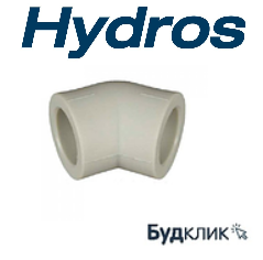 Колено 45х32 PPR HydroS Чехия
