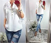 Женская стильная рубашка  СО1105 (бат)