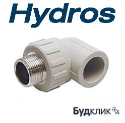 Колено с НР 25 х3/4 PPR HydroS Чехия