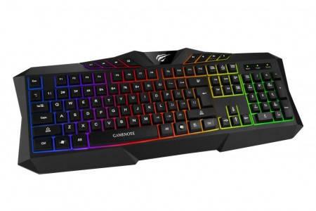 Ігрова клавіатура Havit HV-KB453L black, фото 2